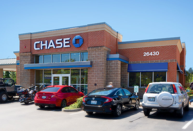 Chase Bank Construction